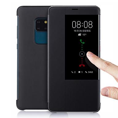 voordelige Huawei Mate hoesjes / covers-etalage smart lederen flip case voor huawei mate 20 pro mate 10 pro mate 20x functie telefoonhoesje