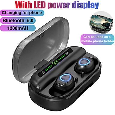 olcso Headsetek és fejhallgatók-litbest tws bluetooth fülhallgató mikrofon led kijelzővel vezeték nélküli bluetooth fejhallgató fülhallgató vízálló zajszűrő fülhallgató
