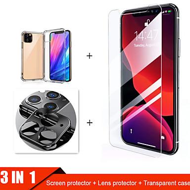voordelige iPhone screenprotectors-3-in-1 gehard glas voor iPhone 11 Pro Max Case Camera beschermglas voor iPhone 11 Pro Screenprotector voor iPhone 11