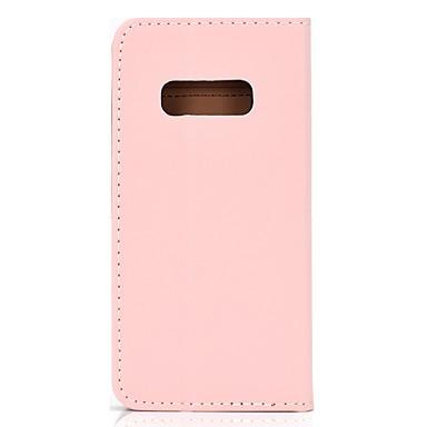 Недорогие Чехлы и кейсы для Galaxy S-Кейс для Назначение SSamsung Galaxy S9 / S9 Plus / Galaxy S10 Бумажник для карт / со стендом / Флип Чехол Эйфелева башня Кожа PU