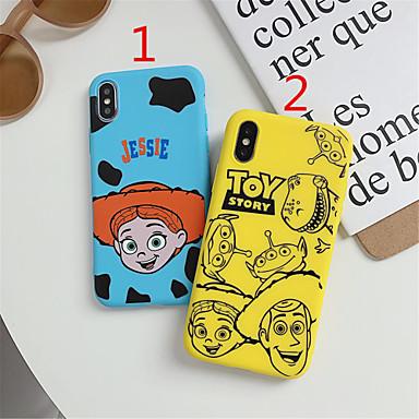 voordelige iPhone 5 hoesjes-hoesje Voor Apple iPhone 11 / iPhone 11 Pro / iPhone 11 Pro Max Mat / Patroon Achterkant Cartoon TPU