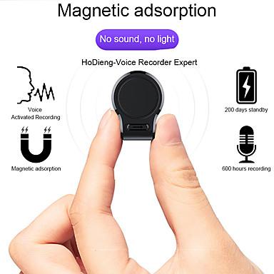 olcso Diktafonok-professzionális mini audio hangrögzítő könnyen elrejtett 600 órás felvétel mágneses digitális 8g 16g HD diktofon nagy távolságú