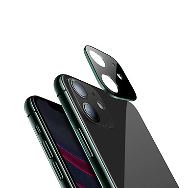 voordelige iPhone screenprotectors -voor iphone 11 3d full back camera lens screen protector voor iphone 11 pro max 2019 gehard glas film aluminium metalen lens case