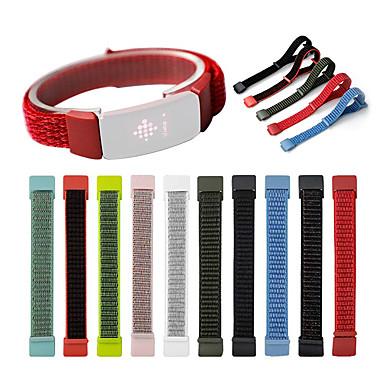 voordelige Horlogebandjes voor Fitbit-nylon horlogeband voor fitbit inspireert hr vervangbare armband polsband polsband