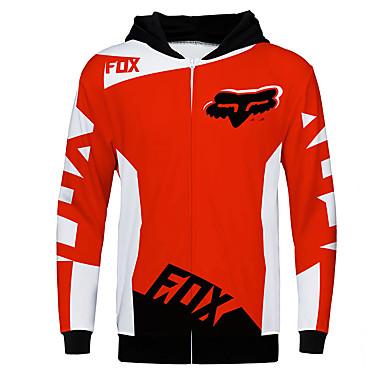 Недорогие Мотоциклетные куртки-фокс мотоцикл джерси одежда куртка для унисекс полиэстер весна осень / зима теплее / воздухопроницаемый / быстро сохнет