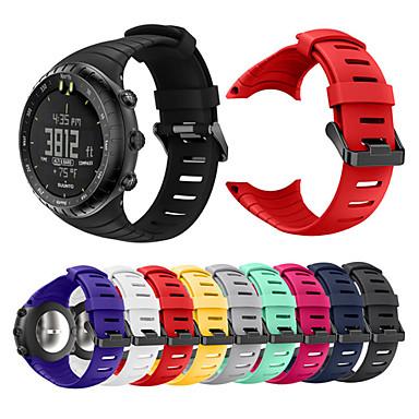 voordelige Smartwatch-accessoires-horlogeband voor suunto kern suunto sportband / klassieke gesp / moderne gesp siliconen polsband