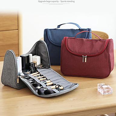levne Cestovní tašky-Jeden díl Cestovní taška Cestovní taštička Cestovní taška na hygienické potřeby Multifunkční Přenosný Cestovní sklad Doplňky k zavazadlům cestování Tkanina Oxford Terylen Dárek Pro Unisex 27*15*15 cm