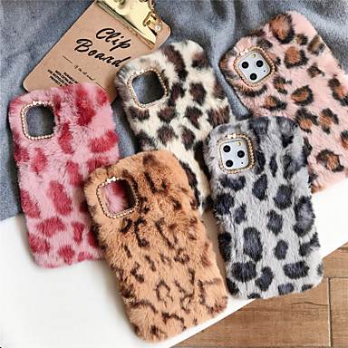 voordelige iPhone 6 Plus hoesjes-hoesje Voor Apple iPhone 11 / iPhone 11 Pro / iPhone 11 Pro Max Strass Achterkant Pluche TPU