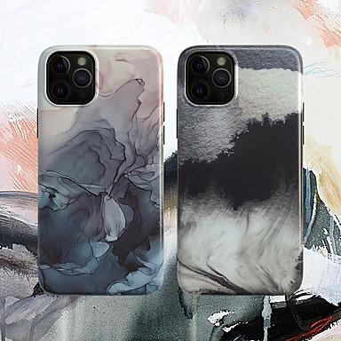 voordelige iPhone-hoesjes-imd landschap aquarel tpu case voor apple iphone 11 pro max 8 plus 7 plus 6 plus max patroon achterkant