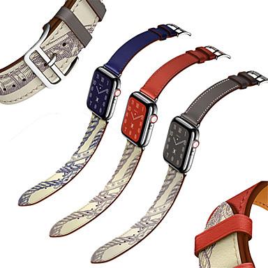 horlogeband voor appelhorloge serie 5/4/3/2/1 appel moderne gesp lederen polsband
