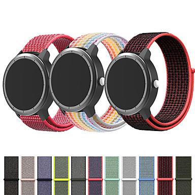 voordelige Smartwatch-accessoires-nylon horlogeband polsband voor garmin vivoactive 4 / venu / vivoactive 3 / forerunner 645 / 245m / 245 / vivomove hr vervangbare armband polsband