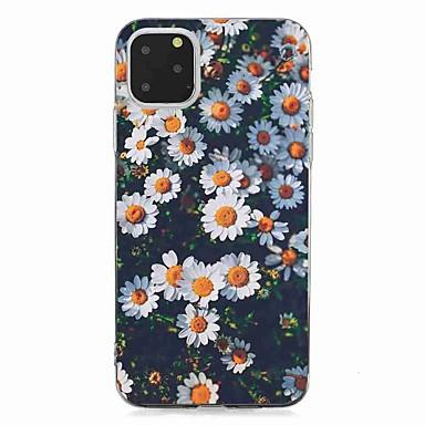 voordelige iPhone-hoesjes-hoesje voor Apple iPhone 11/11 Pro / 11 Pro Max Patroon Achterkant Little Chrysanthemum TPU voor iPhone 6 / 6S Plus / 7/7 Plus / 8/8 Plus / X / XS / XR / XS Max