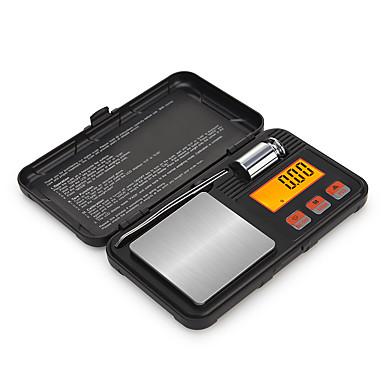 ieftine Electrice & Ustensile-0.05-200g de înaltă definiție portabil auto de înaltă scară de bijuterii digitale scară de buzunar mini scară digitală pentru birou și predarea vieții de călătorie în aer liber
