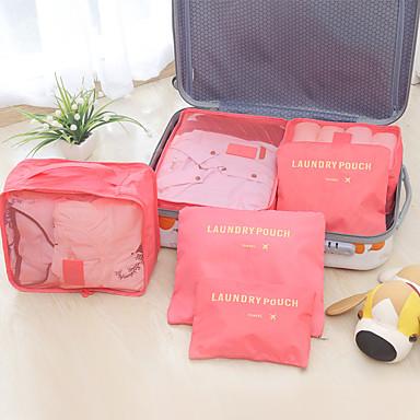 povoljno Kutije za spavaću i dnevnu sobu-visoke kvalitete modne putne torbe za pohranu odjeće uredno organizator šest komada vrećica za rublje kofer za pakiranje vrećice za deku
