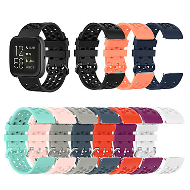cheap Mobile Phone Accessories-Watch Band for Fitbit Versa / Fitbit Versa Lite / Fitbit  Versa 2 Fitbit Sport Band Silicone Wrist Strap