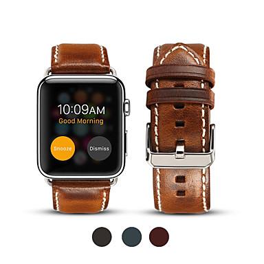 Pogledajte Band za Apple Watch Series 5/4/3/2/1 Apple Poslovni bend Prava koža Traka za ruku