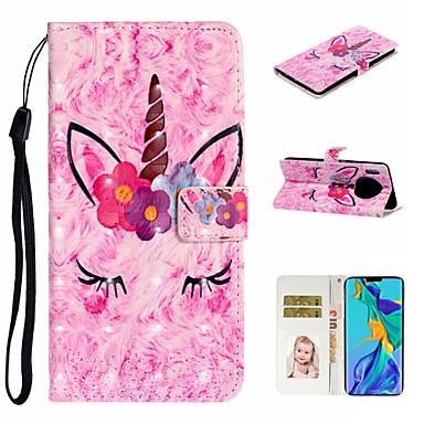 voordelige Huawei Mate hoesjes / covers-hoesje Voor Huawei Honor 7A / Mate 10 lite / Huawei Mate 20 lite Portemonnee / Kaarthouder / Schokbestendig Volledig hoesje dier PU-nahka