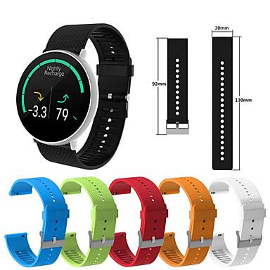voordelige Smartwatch-accessoires-siliconen horlogeband polsband voor garmin vivoactive 3 / samsung galaxy active / vivomove hr / venu / forerunner 645/245 vervangbare armband polsband