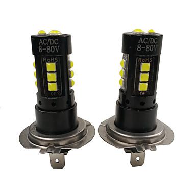 رخيصةأون مصابيح الضباب للسيارات-يصلح لبنز GLA GLC 200 260 300 350 450 75W الصمام أضواء الضباب الأبيض