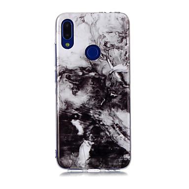 Недорогие Чехлы и кейсы для Galaxy А-Кейс для Назначение SSamsung Galaxy A6 (2018) / Galaxy A7(2018) / A8 2018 IMD / С узором Кейс на заднюю панель Мрамор ТПУ