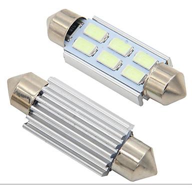 TOYOTA 39mm PLATE INTERIOR LIGHT FESTOON BULB 4 LED WHITE 269 c5w