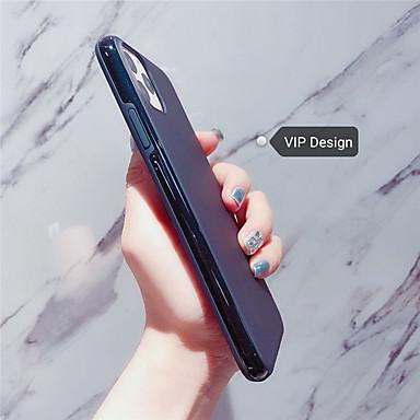 Недорогие Кейсы для iPhone 7 Plus-Кейс для Назначение Apple iPhone 11 / iPhone 11 Pro / iPhone 11 Pro Max Матовое Кейс на заднюю панель Плитка / Прозрачный силикагель