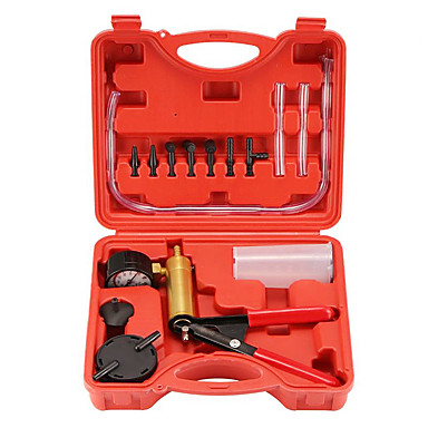 voordelige Noodgereedschap-hoge kwaliteit handremvloeistof ontluchter diy hand held auto vacuümpomp pistool tool kits