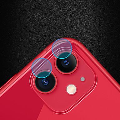 voordelige iPhone screenprotectors-hoesje voor Apple iPhone 11 Szkinston 5e generatie 5d volledig krasbestendig anti-vingerafdruk vezelrijk aanraak flexibel nanotechnologie de cameralens gehard glas schermbeschermer beschermfolie