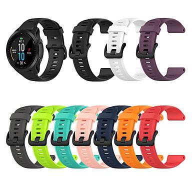voordelige Smartwatch-accessoires-sport siliconen horlogeband voor garmin fenix 6 pro / fenix 5 plus / forerunner 945/935 / approach s60 / quatix 5 vervangbare armband polsband polsband