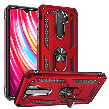 رخيصةأون Xiaomi أغطية / كفرات-الفاخرة صدمات درع غطاء حالة الهاتف ل xiaomi redmi ملاحظة 8 الموالية mi 9t الموالية k20 الموالية cc9 حلقة حامل المغناطيسي
