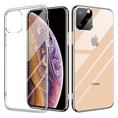 kristal transparant glazen hoesje voor iphone 11 / iphone 11 pro tpu dubbele helderglazen druppel beschermhoes voor iphone x / xr / xs max