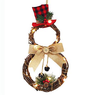 povoljno Dekoracija doma-Odmor dekoracije Novogodišnji Božićna drvca / Nožićna svjetla LED svjetlo / Party Tamno crvena 1pc