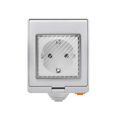 olcso Intelligens Plug-sonoff s55 tpf-de wi-fi vízálló intelligens foglalat