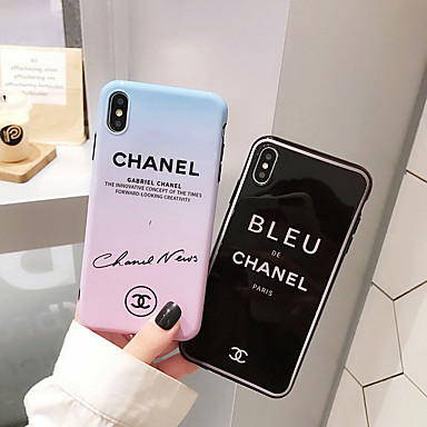 voordelige iPhone 7 Plus hoesjes-hoesje Voor Apple iPhone 11 / iPhone 11 Pro / iPhone 11 Pro Max Patroon Achterkant Woord / tekst PC