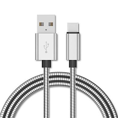 povoljno Kablovi i adaperi za mobitel-metalni pleten mikro micro usb tip c kabel za huawei p20 mikro usb c podatkovni kabel za brzo punjenje za xiaomi oneplus redmi kabel za punjač