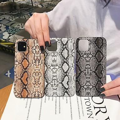 Недорогие Кейсы для iPhone 7-Кейс для Назначение Apple iPhone 11 / iPhone 11 Pro / iPhone 11 Pro Max С узором Кейс на заднюю панель / Чехол Плитка / Полосы / волосы ТПУ