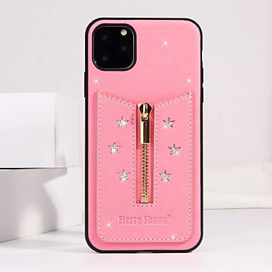 voordelige iPhone-hoesjes-hoesje Voor Apple iPhone 11 / iPhone 11 Pro / iPhone 11 Pro Max Schokbestendig / Ultradun / Glitterglans Achterkant / Volledig hoesje Glitterglans aitoa nahkaa