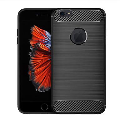Недорогие Кейсы для iPhone-чехол для apple iphone 6s plus противоударный / ультратонкий / матовый задняя крышка линии / волны тпу