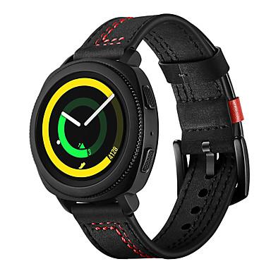 Недорогие Часы для Samsung-ремешок для часов для samsung galaxy gear sport 7 word line ремешок из натуральной кожи