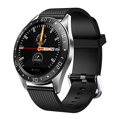 رخيصةأون ساعات الرجال-gt105 الذكية ووتش الرجال ip67 للماء 4 ui الوجه 1.2 بوصة معدل ضربات القلب رسالة ضغط الدعوة تذكير smartwatch
