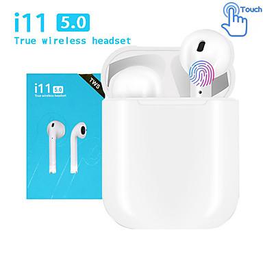 povoljno Pravi bežični uš-LITBest i11 TWS True Bežične slušalice Bez žice EARBUD Bluetooth 5.0 S mikrofonom S kutijom za punjenje