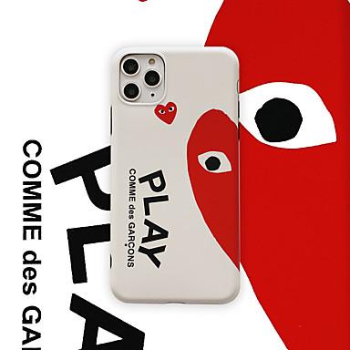 voordelige iPhone-hoesjes-hoesje Voor Apple iPhone 11 / iPhone 11 Pro / iPhone 11 Pro Max Patroon Achterkant Woord / tekst TPU