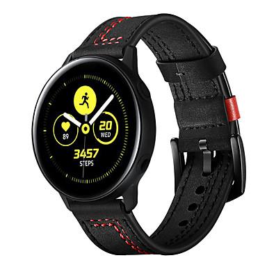 Недорогие Часы для Samsung-ремешок для часов для samsung galaxy часы активная застежка из натуральной кожи