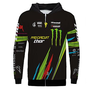 voordelige Motor- & ATV-accessoires-monster motorfiets jersey kleding jas voor unisex polyster lente herfst / winter warmer / ademend / snel droog