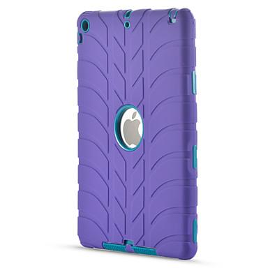 رخيصةأون أغطية أيباد-غطاء من أجل Apple iPad Air / iPad 4/3/2 / iPad Mini 3/2/1 ضد الصدمات / حالة الآمن الطفل مطاط حامي خطوط / أمواج جل السيليكا