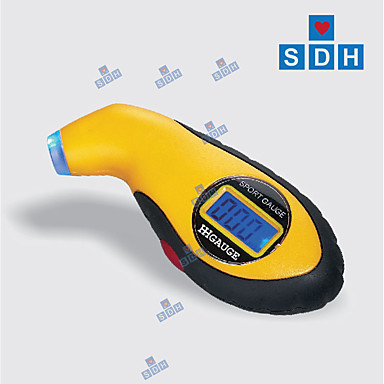 raspon mjerenja digitalnih mjerača gume hs74002: 5,0-100psi; 0,35-7,00bar automatski isključeno / lagano / povoljno