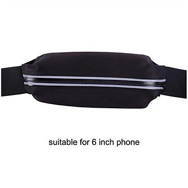 Недорогие Чехлы и кейсы для Nokia-спортивная сумка работает сумка талии карман бег трусцой водонепроницаемый водонепроницаемый бум сумка открытый телефон противоугонные пакет сумки на ремне