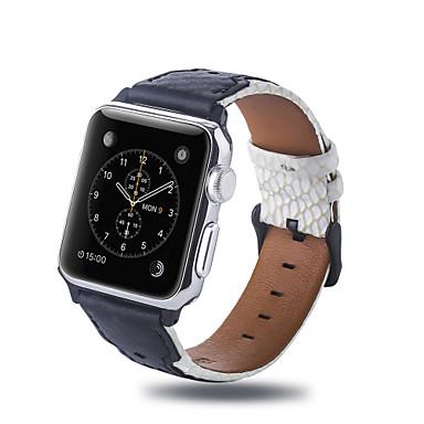 Недорогие Ремешки для Apple Watch-Ремешок для часов для Apple Watch Series 5 / Apple Watch Series 4 / Apple Watch Series 3 Apple Бизнес группа Стеганная ПУ кожа Повязка на запястье