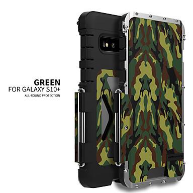 Недорогие Чехлы и кейсы для Galaxy S-Кейс для Назначение SSamsung Galaxy S9 / S9 Plus / S8 Plus Защита от удара Кейс на заднюю панель Однотонный Нержавеющая сталь