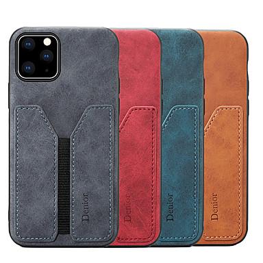 voordelige iPhone 6 hoesjes-denior portemonnee hoesje voor iphone 11 pro max / iphone xr pu lederen slanke creditcard achterkant voor Apple iPhone XS / iPhone 7 / iPhone 8 / iPhone 11